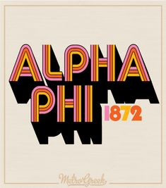 Sorority Bid Day Shirts - Order for Your Chapter I MetroGreek Alpha Phi Letters, Alpha Phi Crafts, Alpha Phi Shirts, Alpha Phi Sorority, Bid Day Shirts, Sorority Canvas, Sorority Shirts, Phi Mu, Kappa