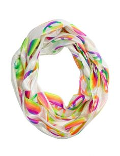 Multi Icon Scarf | Girls Fashion Scarves & Hats Accessories | Shop Justice
