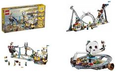 Lego Creator 3 In 1 Pirate Roller Coaster 923 Pieces Building Kit Kids Toy Gift Lego Creator, The Creator, Roller Coaster, Legos, Pirates, Kids Toys, Coasters, Kit, Building