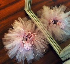 Ballerina Tutu Set with Ballerina Slippers and by alanemarie, $50.00