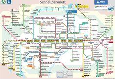 München U-bahn und S-bahn