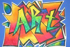 Splish Splash Splatter: 6th Grade  Graffiti art names