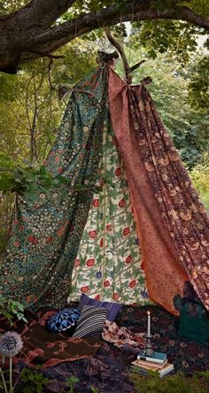 Secluded boho tent in the forest near Stockholm • photo: Tina Hellberg on Cargo