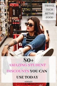 college hacks saving money student discounts Who doesnt love a good discount Check out these AMAZING 80 student discounts that you can use with a valid student ID or email today! College Student Discounts, College Student Budget, Girl College Dorms, College Snacks, College Dorm Essentials, College Checklist, College Fun, College Tips, College Students