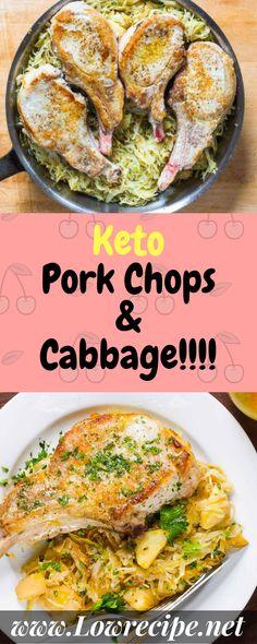 Keto Pork Chops & Cabbage!!!! - Low Recipe