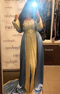 Arwa Dresses Muslim Wedding Dresses, Indian Gowns Dresses, Pakistani Dresses, Formal Dresses, Wedding Attire, Wedding Bride, Dress Wedding, Morrocan Dress, Moroccan Caftan