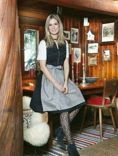 Dirndl Dress, German Girls, Traditional, Vintage, Dresses, Fashion, Fashion Styles, Fall Winter, Oktoberfest
