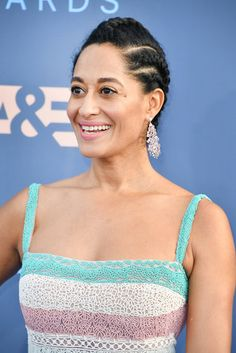 Tracee Ellis Ross Is A Cornrow Queen At The Critics Choice