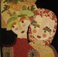 Les portraits textiles de Katherine Roumanoff
