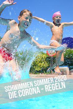 Corona Regeln Schwimmbad – Lange wurde darauf gewartet und auch gehofft. Jetzt sind sie da, die Regeln für den Ausflug ins Schwimmbad im Corona Sommer 2020 in Österreich. Wir werden uns ab der Öffnung der Schwimmbäder am 28.Mai 2020 auf einige Änderungen, Einschränkungen und Vorgaben halten müssen, um einen für die Gesundheit sicheren Besuch im Schwimmbad in Zeiten von Corona erleben zu können. In diesem Blogbeitrag lest ihr alle Regeln fürs Schwimmbad im heurigen Sommer. 28 Mai, Movies, Movie Posters, Corona, Swimming, Summer, Health, Films, Film Poster