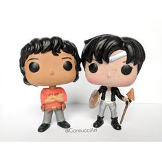 Funko pops made by me, based on Thalia and Leo!  #custom #funko #pop #customfunkopop #customfunko #custompop #funkopop #funkopopvinyl #popvinyl #thaliagrace #leovaldez