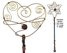 whimsical bubble wands Heart Bubbles, Bubble Wands, Sleep Sacks, Wire Crafts, Wire Work, Baby Sleep, Wire Wrapping, Kid Stuff, Whimsical