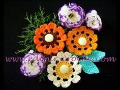 CROCHE AULA FLOR MODELO 055 #afs collection