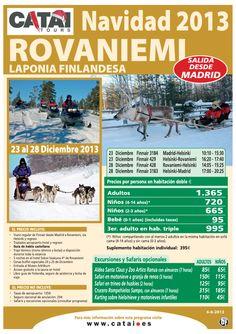Navidad en LAPONIA: Rovaniemi, sal desde Madrid, 23-28 diciembre desde 1.365€ - http://zocotours.com/navidad-en-laponia-rovaniemi-sal-desde-madrid-23-28-diciembre-desde-1-365e/