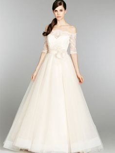 Reem Acra 2358 Size 4 Wedding Dress – OnceWed.com