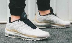 9061ce1868 Nike Air Max 97 plus - Light Orewood Brown, Black & Rattan Trainers All  Sizes
