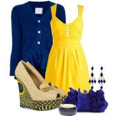 Blue yellow