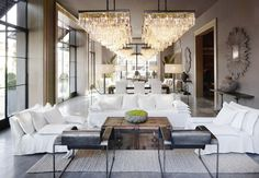 Tour the Grandest (and Newest) Restoration Hardware via @MyDomaine