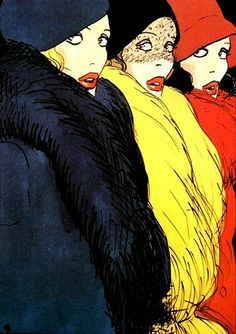 Rene Gruau ... best ever fashion illustrator!