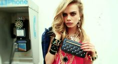 Cara Delevingne: DSquared2, Resort 2013