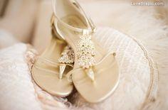 Jeweled sandals fashion girly shoes glitter gold elegant