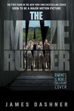 The Maze Runner (Maze Runner Series Book #1) Kinda wish I had this version of the book. I like the cover better than the original.