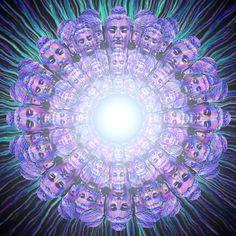 """Blast of Purple Buddha Bliss"" by Bill Brouard | Redbubble"