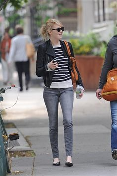 Emma Stone#Outfit#Hair