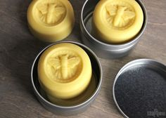 Learn how to make lotion bars with beeswax, shea butter and olive oil. These lotion bars are scented with a light honey scent, and make great gifts.