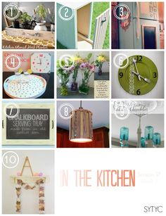 In the Kitchen Challenge {Season 17, Week 1} - So You Think You're Crafty
