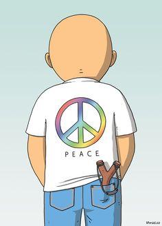 peace,cartoon