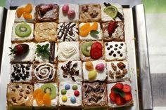 25. výročie svadby - 25 rôznych kúskov torty (: