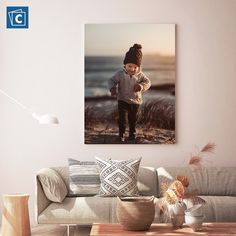 Whether you want to decorate your home or your office space, canvas prints make for unique decor. Turn your favorite photos into canvas art. Click here to begin designing yours! Photo Canvas, Canvas Art, Custom Canvas Prints, Photo Effects, Decorating Your Home, Online Printing, Space, Unique, Photos