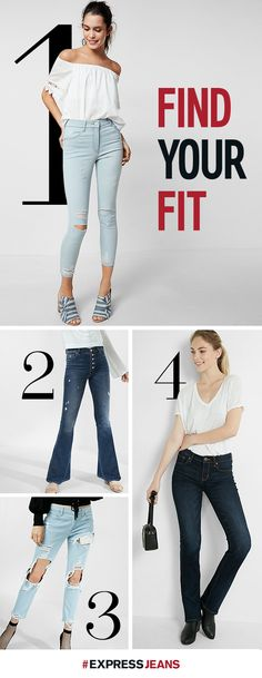 Check out this season's hottest jean trends & fits, designed by Express and worn by you! Jean leggings for girl's night, high-waisted girlfriend jeans for Sunday brunch—whatever the event, you'll find fresh, flattering designs for every occasion.