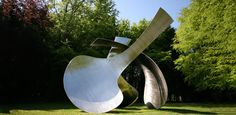 At the Cass Foundation - superb grounds hosting amazing sculptures... http://www.sculpture.org.uk/