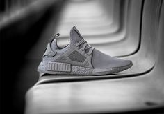 "adidas is looking to keep the colored Boost wave going strong. Next up to grab the baton is the adidas NMD ""Silver Boost"". Going for a monotone look, t Adidas Nmd, Adidas Shoes, Addidas Sneakers, Latex Fashion, Fashion Shoes, Mens Fashion, Fashion Models, Runway Fashion, Men's Shoes"