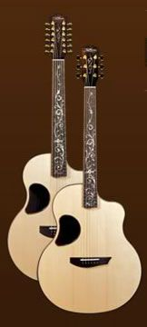 12 and 6 string McPherson Duet Guitars. Only 34K for the pair.