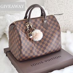Tag 2 friends who'd love to win @fiercesociety  Louis Vuitton Speedy handbag giveaway ! Follow @fiercesociety @fiercesociety @fiercesociety for details on how to win this bag and a $200 Starbucks gift card