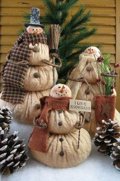 prim snowmen