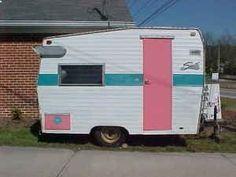 Little vintage trailer