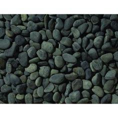 25 KG Beach pebbles 40-60mm zwart - Split En Grind Kopen? | Terrasbestrating.nu - Terrasbestrating.nu: Goedkope sierbestrating bezorgd in heel Nederland!