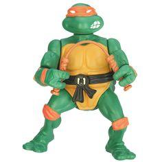 """Teenage Mutant Ninja Turtles Retro Collection 4"""" Figure - Retro Mike - Playmates - Toys """"R"""" Us"""