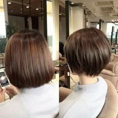 Kosmetika 64 Ideas hair bob cut hairdresser Why Should You Get Married In Las Vegas? Choppy Bob Hairstyles, Short Bob Haircuts, Asian Bob Haircut, Bobs For Thin Hair, Hair Today, Hair Dos, Short Hair Cuts, Hair Trends, Hair Inspiration