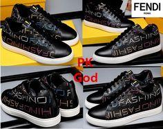 850257b258217 Lowest Fendi shoes FF Logo Sneakers leather black PK God original  perfectkicks south korea legit check on feet outlet 2018