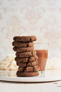 hot cocoa snickerdoodles - vegan and gluten-free!