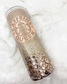 Excited to share the latest addition to my shop: Caffeine Queen tumbler Copo Starbucks, Starbucks Tumbler, Coffee Tumbler, Tumbler Boys, Starbucks Logo, Diy Tumblers, Custom Tumblers, Glitter Tumblers, Teddy Lupin