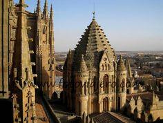 Torre del Gallo, Salamanca - Cimborrio de la Catedral Vieja de Salamanca #cimborrio #románico #catedralvieja #salamanca #catedraldesalamanca