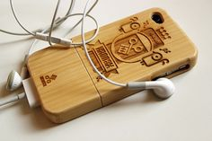 iPhone 4 real bamboo hardcases