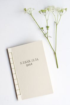 DIY notebook / UKKONOOA: Kesäkirja / Book of summer