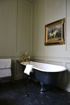 Soaking Tub in a Museum Setting | Content in a Cottage